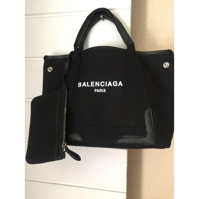 Balenciaga(バレンシアガ)のバレンシアガ ネイビーカバ Sサイズ レディースのバッグ(トートバッグ)の商品写真