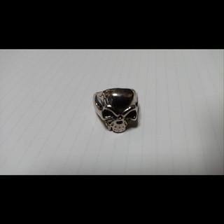 スカル ヘッド リング メンズ シルバー ドクロ 骸骨(リング(指輪))