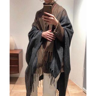 トゥデイフル(TODAYFUL)のPiping Wool Gown(マフラー/ショール)