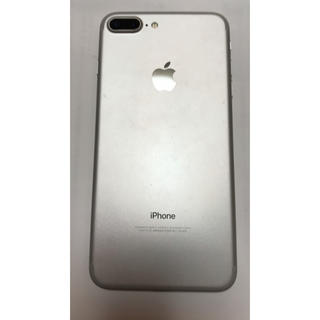 Apple - 画面割れiPhone7plus128G シルバーSIMフリー