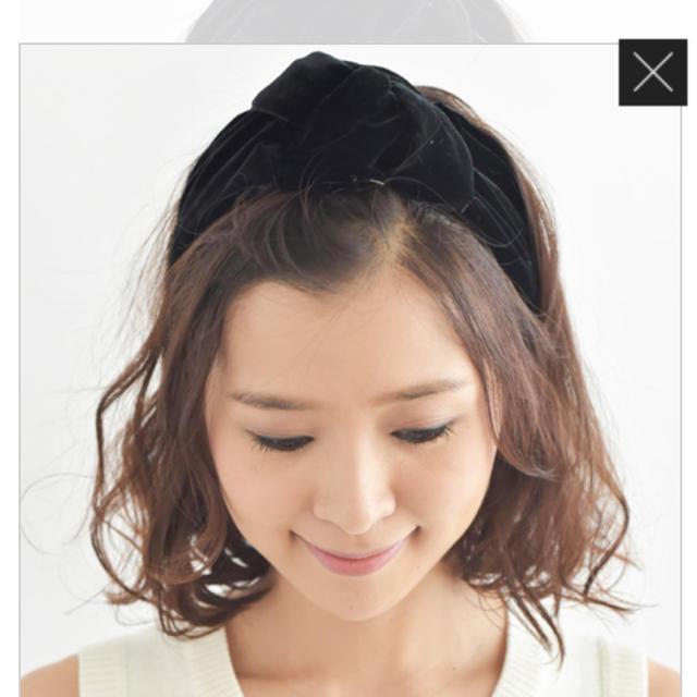 H.P.FRANCE(アッシュペーフランス)のフランスラックス☆ヘアバンド レディースのヘアアクセサリー(ヘアバンド)の商品写真