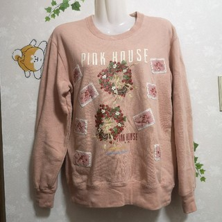 PINK HOUSE - ピンクハウス イチゴ 苺 トレーナー スウェット