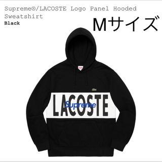 Supreme - Supreme LACOSTE  Panel Hooded Sweatshirt
