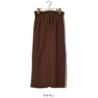 w closet - W Closet♡レースアップタイトスカート