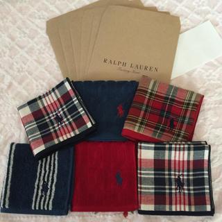 Ralph Lauren - 6枚セット ✨ ラルフローレン  ラッピング袋付き