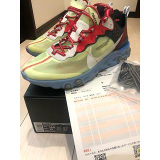 NIKE - size 28.5  Nike UNDERCOVER リアクエレメント87