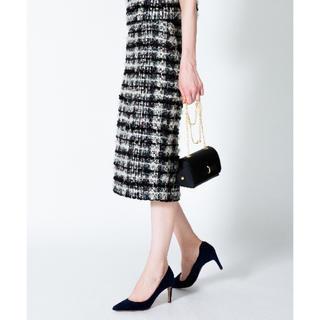ANAYI - タグ付き ツイードスカート