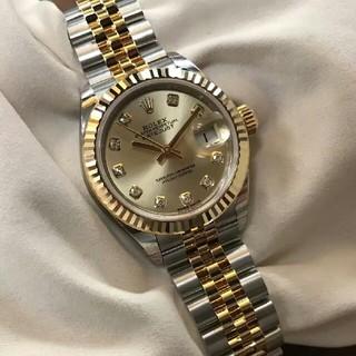 ROLEX - ロレックスゴールドマシン女子時計ゴールド
