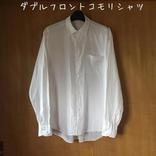 COMOLI - comoli サイズ1 ダブルフロントコモリシャツ ホワイト