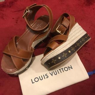 LOUIS VUITTON - LOUIS VUITTON ルイ・ヴィトン サンダル 美品