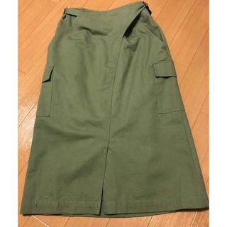 フリーズマート(FREE'S MART)のフリーズマート カーゴペンシルラップスカート  (ひざ丈スカート)