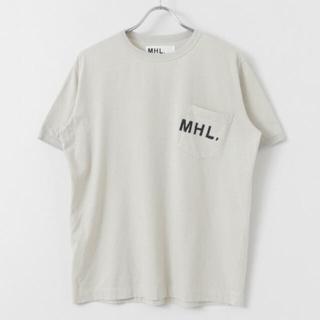 MARGARET HOWELL - UR x MHL. 別注 Tシャツ 【L】