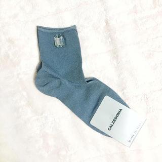 CALZEDONIA ビジュー付き靴下 新品(ソックス)
