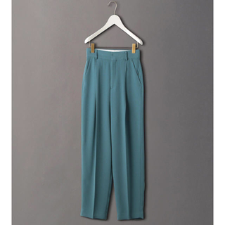 BEAUTY&YOUTH UNITED ARROWS - 6(ROKU)  GEORGETTE TUCK PANTS