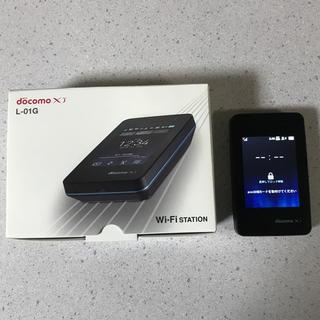 エルジーエレクトロニクス(LG Electronics)のdocomo Wi-Fi STATION L-01G(その他)
