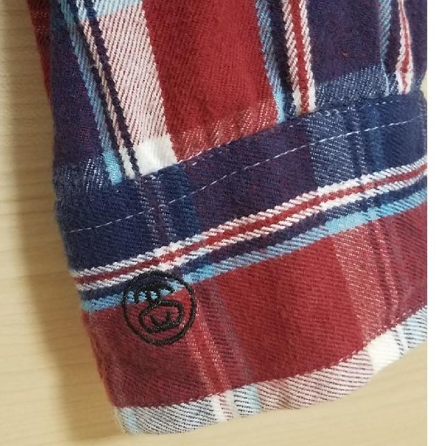 STUSSY(ステューシー)のストゥーシー チェックシャツ ネルシャツ メンズのトップス(Tシャツ/カットソー(七分/長袖))の商品写真