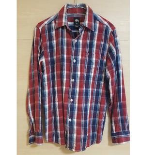 ステューシー(STUSSY)のストゥーシー チェックシャツ ネルシャツ(Tシャツ/カットソー(七分/長袖))