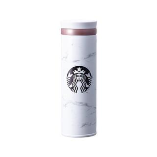 Starbucks Coffee - 韓国 スターバックス ホワイト マーブル サーモス タンブラー  大理石