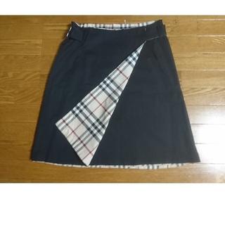 BURBERRY - BURBERRYリバーシブルスカート