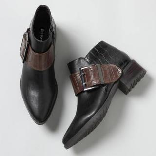 ジーナシス(JEANASIS)のJEANASIS ベルトバックルブーツ M(ブーツ)