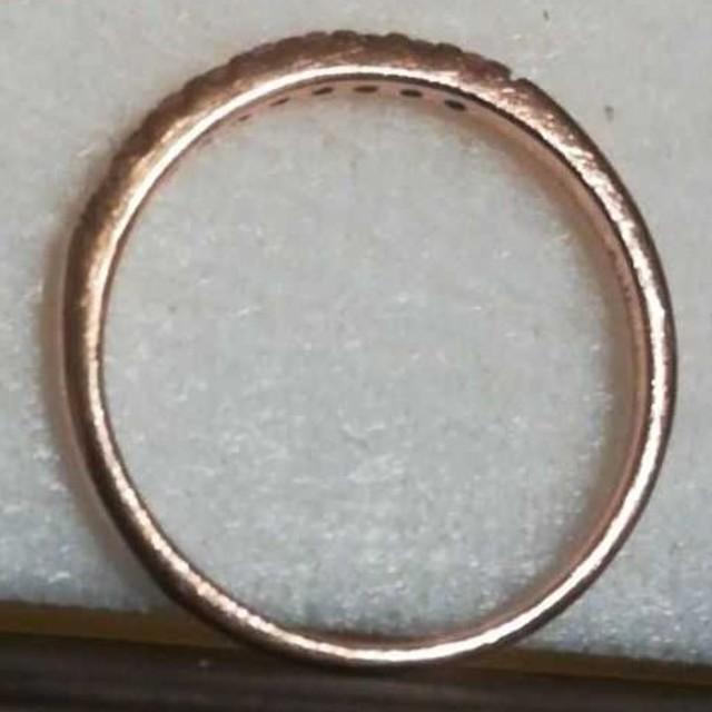 ツツミ K10PG ピンクサファイア ピンキーリング レディースのアクセサリー(リング(指輪))の商品写真