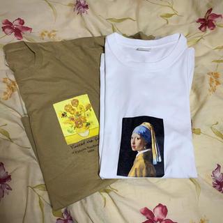 FREAK'S STORE - 韓国 オーバーアートtシャツ 半袖 2点セット 絵画