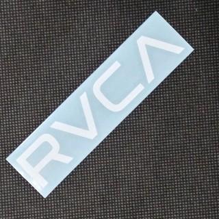 RVCA - RVCA ルーカ 12.1×2.4cm カッティングステッカー 白