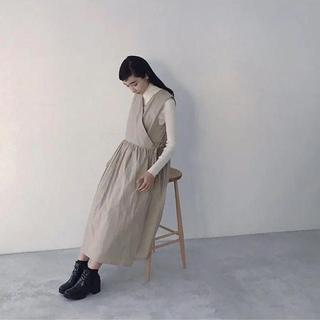 ヤエカ(YAECA)のfoufou  カシュクールワンピース(ロングワンピース/マキシワンピース)