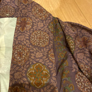 ヨウジヤマモト(Yohji Yamamoto)のVINTAGE     花柄羽織ジャケット(ノーカラージャケット)