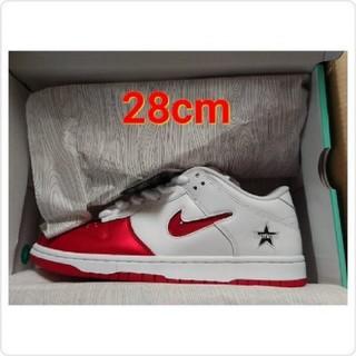 Supreme - 28cm Supreme Nike SB Dunk Low white