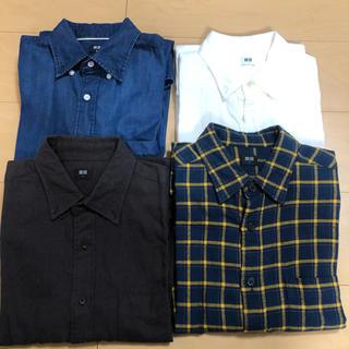ユニクロ(UNIQLO)の・UNIQLOシャツ4セット (シャツ)