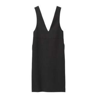 ジーユー(GU)のGU 大きめサイズ ジャンバードレス(ひざ丈ワンピース)