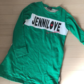 JENNI - ジェニィ   トレーナーワンピース