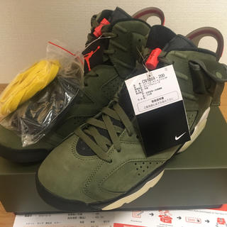 Travis Scott Air Jordan 6 Retro SP 25.5