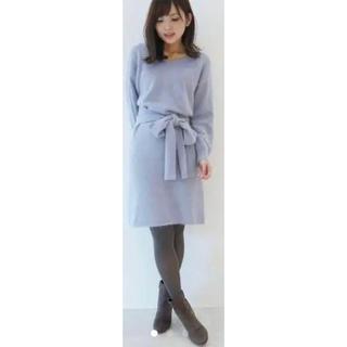 PROPORTION BODY DRESSING - プロポーション♡2wayニットワンピース
