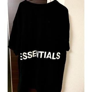 FEAR OF GOD - FOG essential Tシャツ バックロゴ