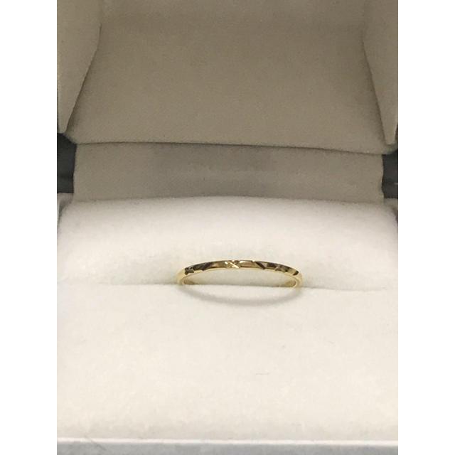イエローゴールドリング レディースのアクセサリー(リング(指輪))の商品写真