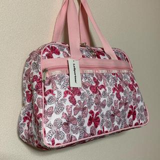 LeSportsac - レスポ☆ボウズ ☆7854 オーバーナイター ピンク リボン 旅行 バッグ