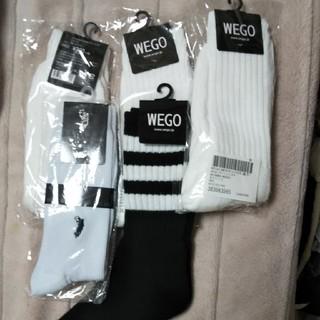 ウィゴー(WEGO)のメンズソックス5点・25〜27cm(ソックス)