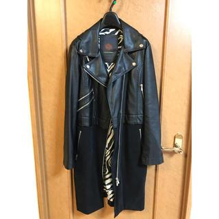 DOUBLE STANDARD CLOTHING - ダブスタ レザーコート (人工皮革)