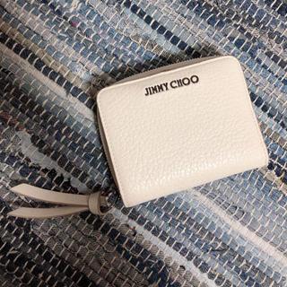 ジミーチュウ(JIMMY CHOO)のジミーチュウ⚪️二つ折財布(財布)