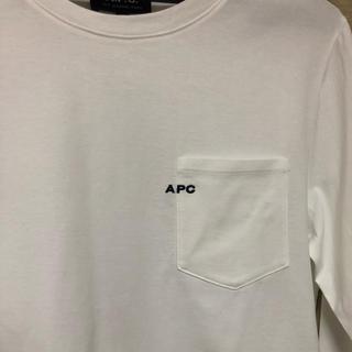 アーペーセー(A.P.C)のapc ポケットロゴ入りロンt(Tシャツ(長袖/七分))