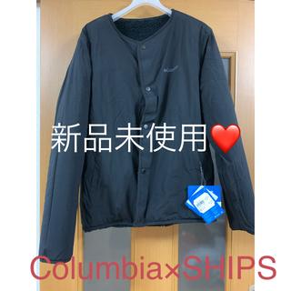 コロンビア(Columbia)の新作❤新品未使用Columbiaボアフリースリバーシブルジャケット(ブルゾン)