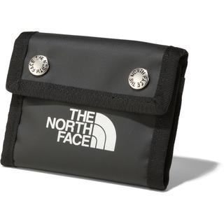 ザノースフェイス(THE NORTH FACE)のノースフェイス BCドットワレット  K ブラック  財布(折り財布)