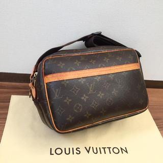 LOUIS VUITTON - 【美品】正規品 ルイヴィトン リポーター PM ショルダーバッグ モノグラム
