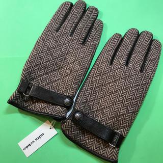 ミラショーン(mila schon)のMila.schon.....紳士手袋……未使用(手袋)