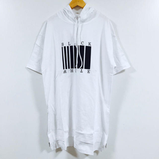 サイドジップ フード付きカットソー(Tシャツ/カットソー(半袖/袖なし))