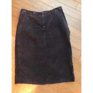 ビームス(BEAMS)のJWBRINE  ジェイダブリューブライン コーデュロイタイトスカート(ひざ丈スカート)