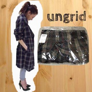 アングリッド(Ungrid)のungrid♡チェックトレンチコート(トレンチコート)