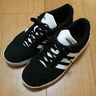 adidas - adidasスウェードスニーカー25cm